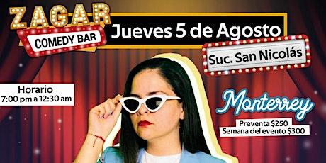 Alexa Zuart | Stand Up Comedy | Monterrey boletos