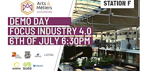 Focus Industry 4.0 - DemoDay Arts et Métiers at Station F billets