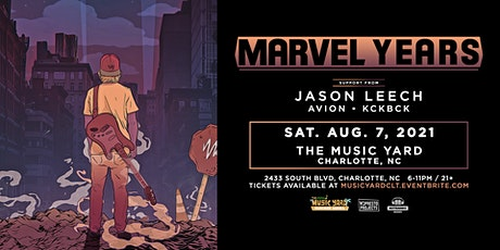 Marvel Years Live at The Music Yard ft. Jason Leech tickets