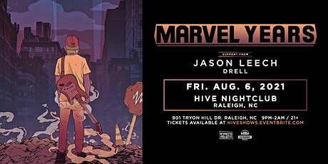 Marvel Years Ft. Jason Leech @ HIVE Nightclub tickets