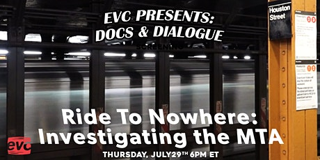 EVC Presents Docs & Dialogue: Ride to Nowhere tickets