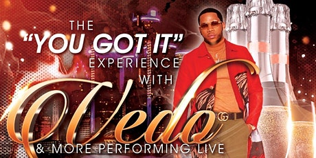 """""""You Got It"""" Experience with Vedo the Singer and More tickets"""