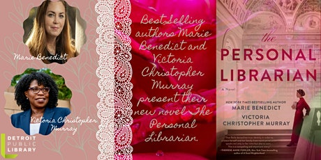 DPL Author Series Presents  Marie Benedict and Victoria Christopher Murray tickets