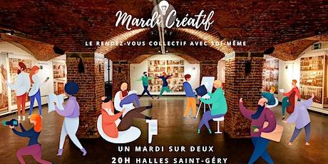 Mardi Créatif x Halles Saint Gery tickets