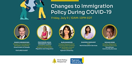 Changes to Immigration Policy During COVID-19 tickets