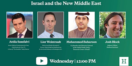 Virtual Event   Israel and the New Middle East tickets