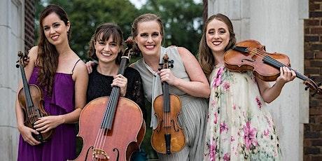 Quartet Salonnières LIVE at Veterans Memorial Beach (Fri, July 2 @ 5-7pm) tickets