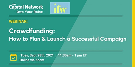 Crowdfunding Workshop: How to Plan & Launch a Successful Campaign tickets
