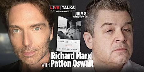 Richard Marx in conversation with Patton Oswalt tickets