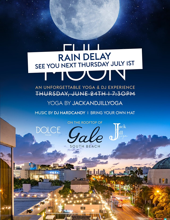 Full Moon at the Gale South Beach image