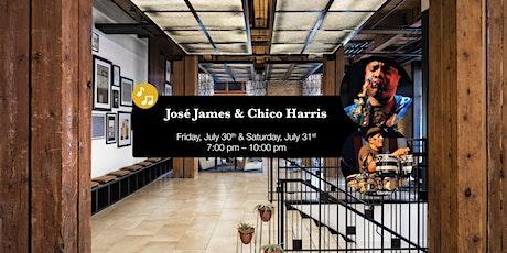 Jose James & Chico Harris LIVE at Umbra tickets