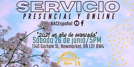 Servicio Congregacional NACE (Sabado 26 de Junio - 5 pm) entradas