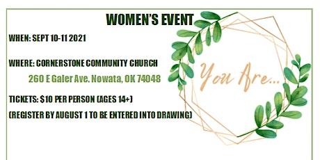 Women's Event tickets