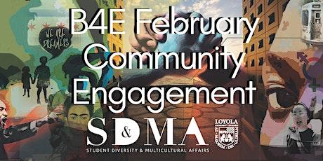 B4E February Community Engagement tickets