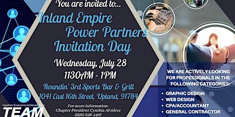 Inland Empire Power Partner Invitation Day tickets