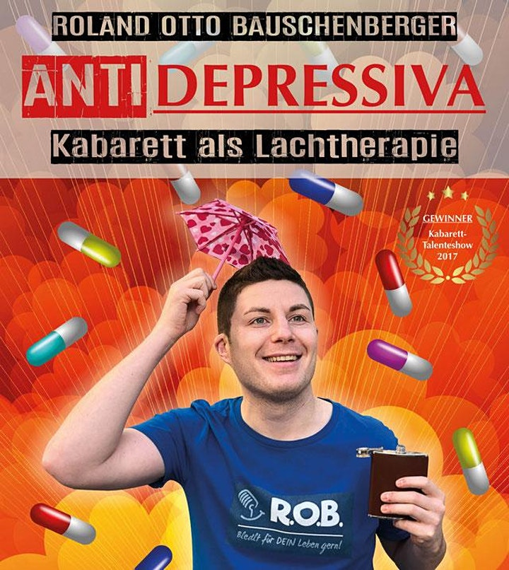 Roland Otto Bauschenberger  ANTIDEPRESSIVA: Bild