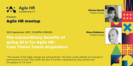 The extraordinary benefits of going all in for Agile HR tickets