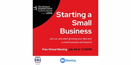 Starting a Small Business tickets