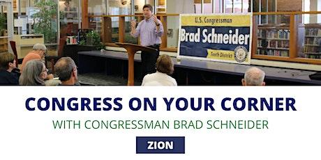 Congress On Your Corner: Zion tickets