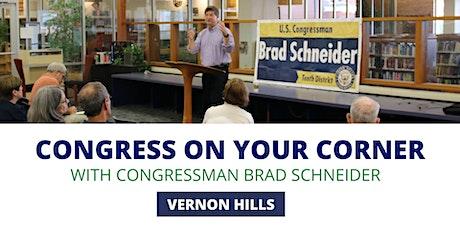 Congress On Your Corner: Vernon Hills tickets