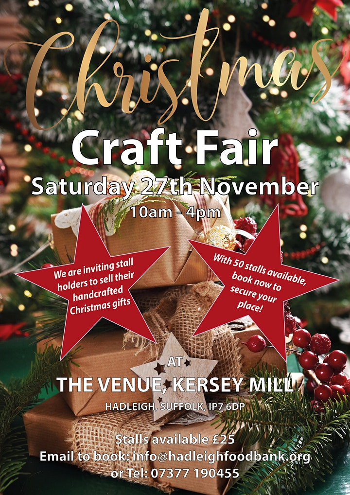Christmas Craft Fair at The Venue, Kersey Mill image