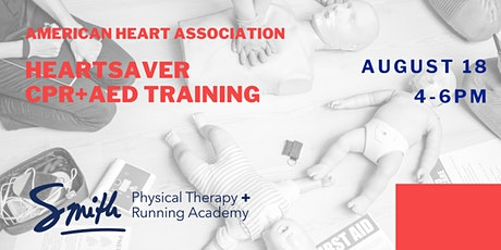 Community CPR+AED Course (American Heart Association, Heartsaver) tickets
