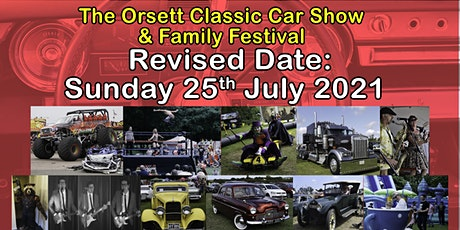 Orsett Classic Car & Family Festival 2021 tickets