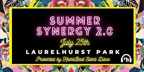Heartbeat Silent Disco | Summer Synergy 2.0 | PDX | 7/25| 6-9pm tickets