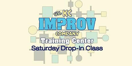 Saturday Drop-in Improv Class! tickets