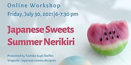 Learn to Make Japanese Sweets  - Summer  Nerikiri tickets