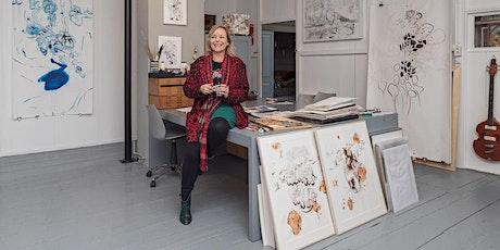 Tekenen en Schilderen met Larisa Sjoerds 4 LESSEN KAART tickets