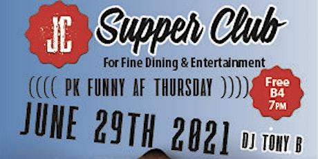PK Funny AF Thursdays headliner Dennis Clark tickets