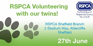 Volunteering session for RSPCA Sheffield
