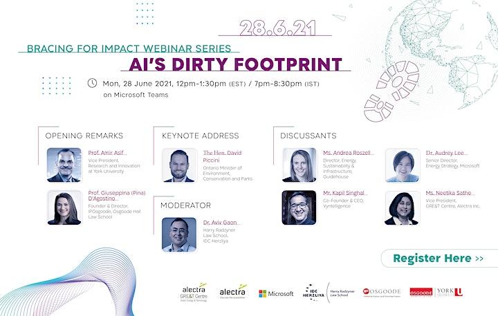 Bracing for Impact Webinar Series: AI's Dirty Footprint image