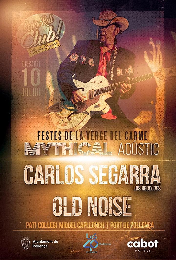 Imagen de Carlos Segarra & Old Noise  en concert acústic al Port de Pollença