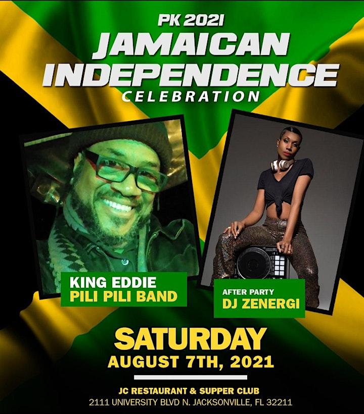 PK Presents 2021 Jamaican Independence Celebration image