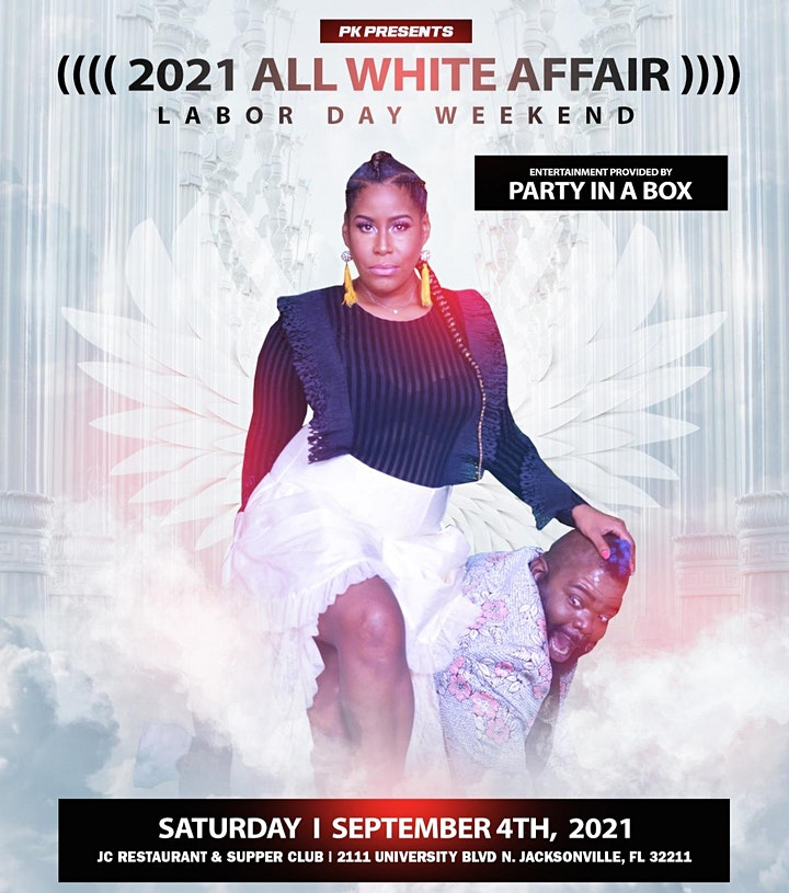 PK Presents 2021 All White Affair image