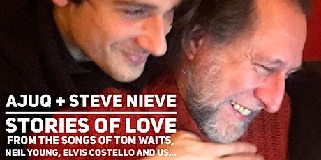 "Steve Nieve & Ajuq present ""Stories of Love"" tickets"