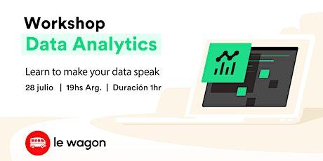 Intro a Data Analytics tickets