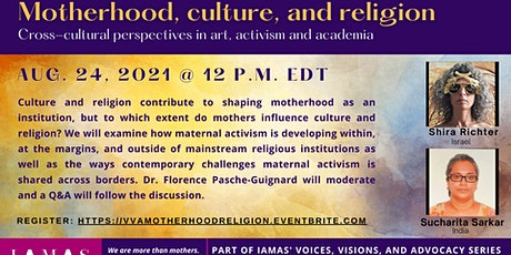 Motherhood, Culture and Religion Tickets