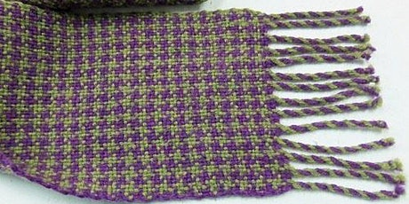 Houndstooth Check Scarf on a Rigid Heddle Loom tickets