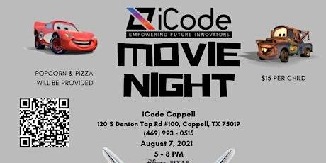 Cars Movie Night tickets