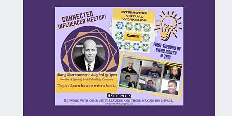 CONNECTED Influencer Meetup  with KARY OBERBRUNNER tickets