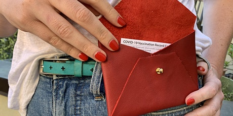 Leather Vaccine Passport Wallet tickets