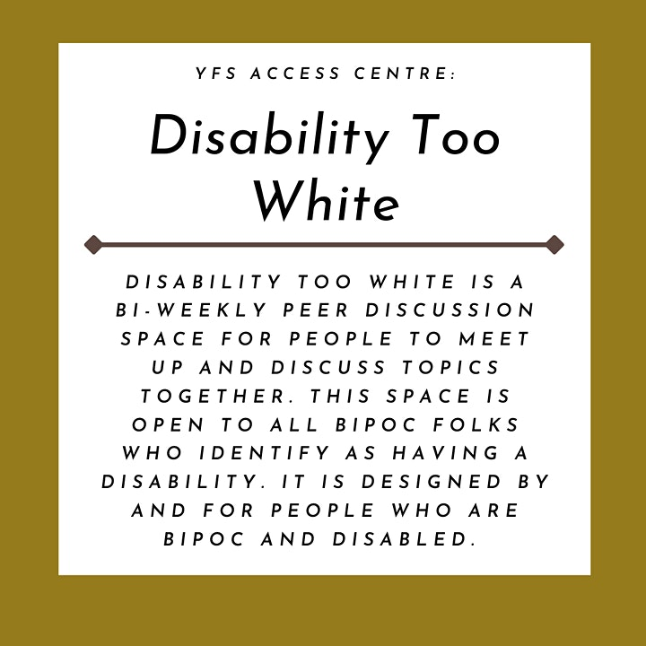 Disability Too White image