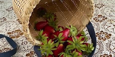 Summer Basket Class - Berry Picking Basket tickets