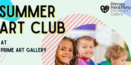 Summer Art Club tickets