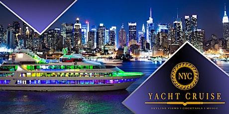 #1 New York City Booze Cruise on the Mega Yacht Infinity tickets