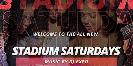 Stadium Saturdays at Stadium Bar and Lounge tickets
