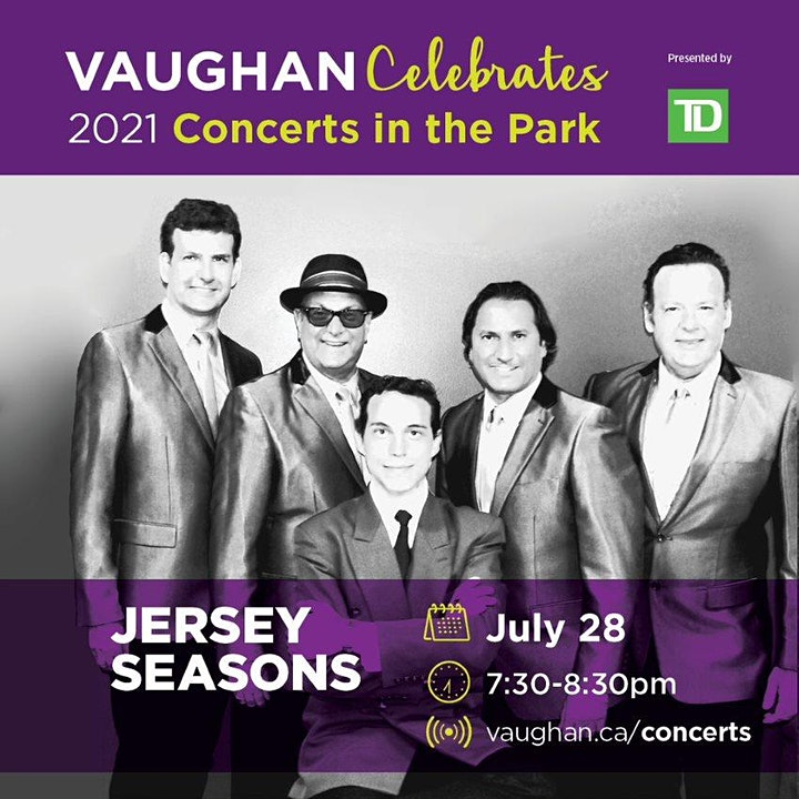 Vaughan Celebrates virtual Concerts in the Park 2021 - Jersey Seasons image
